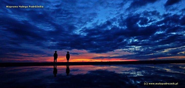 Sunset. Dębina, Baltic Sea, Poland #Baltic #sea #sunset