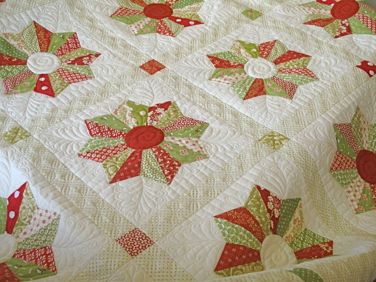 Lollipops Quilt Pattern Fig Tree : 1000+ images about Red, White & Green Quilts on Pinterest Batik quilts, Quilt and Snowflake quilt