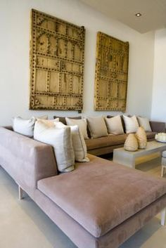 How to Make a Sectional Slipcover Without Sewing