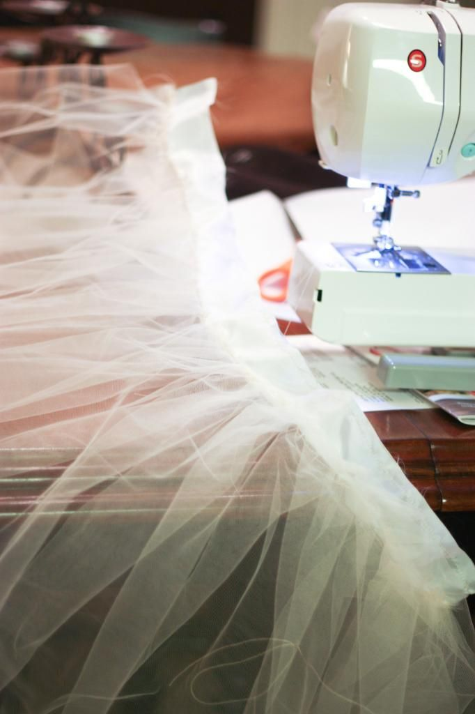 DIY Tulle Skirt Tutorial-instead of tutu