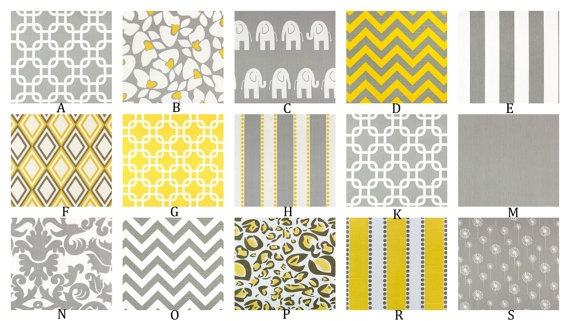 67 best images about color gray on pinterest grey for Yellow baby fabric