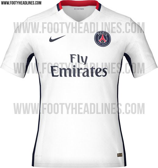 The new Paris Saint-Germain Home and Away Kits are traditional, while the  PSG Dark Light Third Kit features a understated design for the Champions  League.