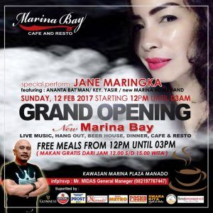Makan Gratis di Grand Opening Marina Bay Cafe dan Resto - Entertainment