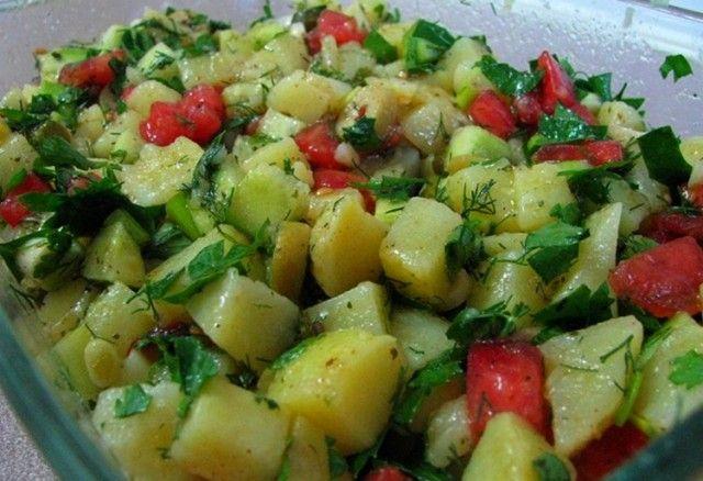 Patates Salatası Tarifi #patates #salata #patatessalatasi #yemek #tarifler #tarif #benimtariflerim