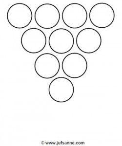 Juf Sanne: formatie kegels