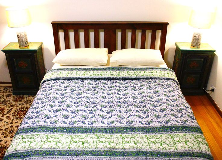 Our handmade Rajasthani rajais are made in Jaipur and each unique quilt in our Premium Collection is priced at AUD$149.95