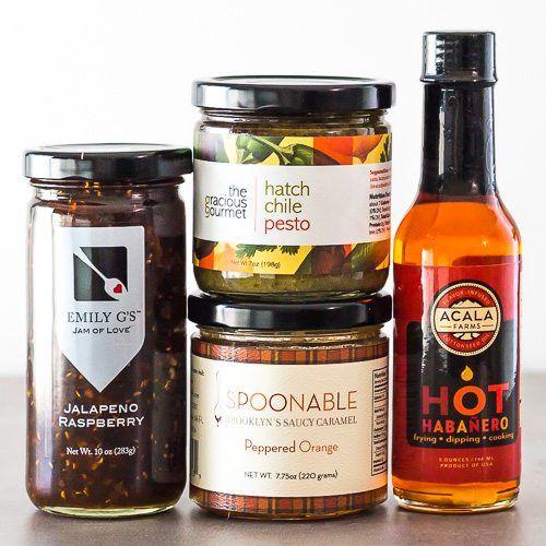 "Valentines day Gourmet Food Gift Set ""Sexy Hot"" via @Spoonabilities"
