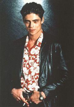 """LICENSE TO KILL Villain.  """"Dario"""" played by Benicio Del Toro."""