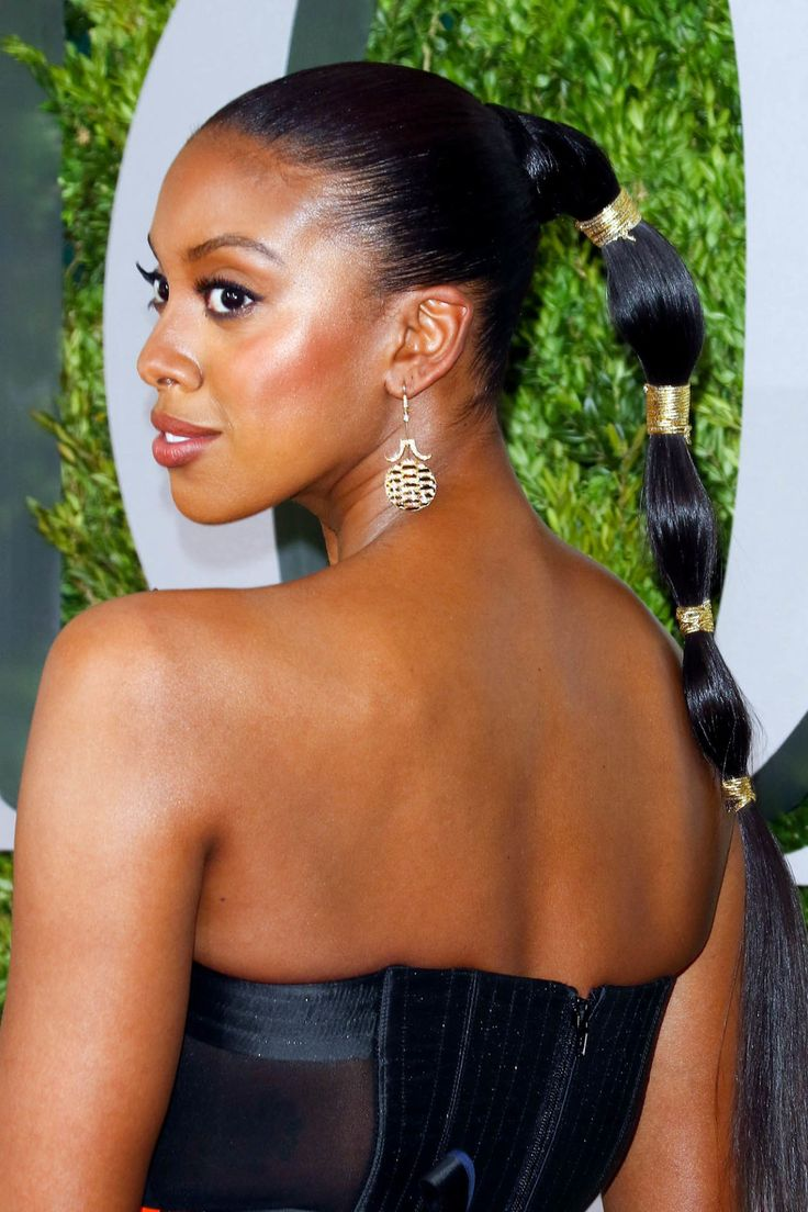 Condola Rashad - Take your bubble pony to the next level with statement metallics threads