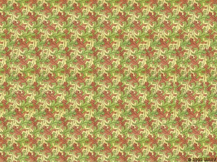 magic eye | snake | Fractal Stereogram/Magic Eye/Illusions ...