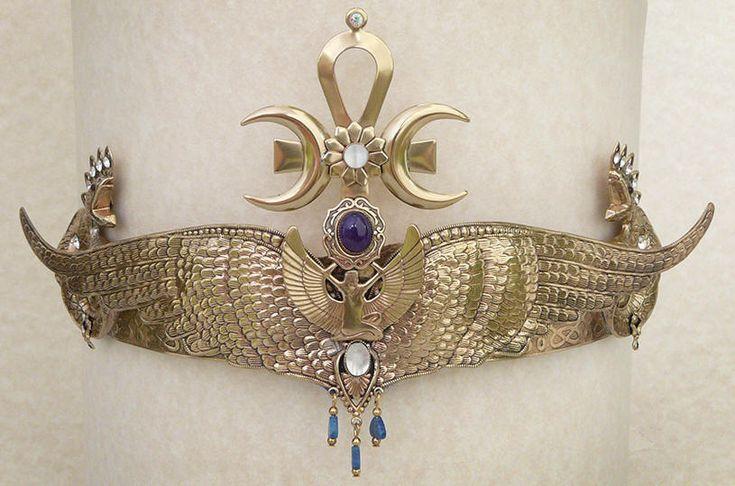 Isis Goddess Tiara