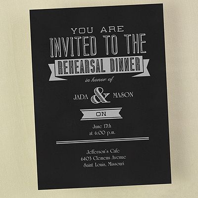 Rehearsal Dinner Invitations Choose Color Http Partyblock Carlsoncraft