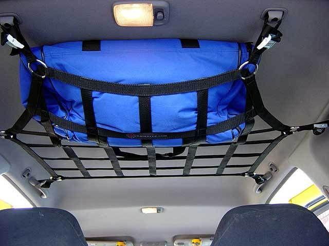 1999 - 2015 Nissan Xterra medium ceiling storage shelf net RIXN