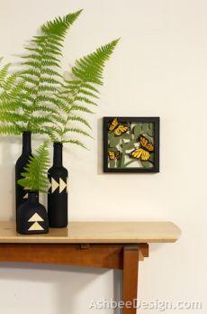 Декоративные винные бутылки своими руками (1) (396x600, 173Kb)