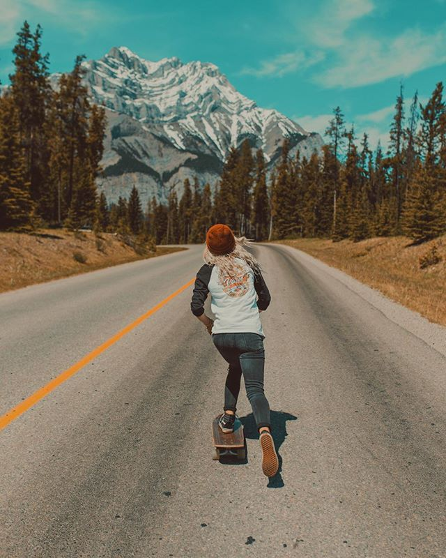 WEBSTA @ dreaming_outloud - rip around Banff = CHECK✔️