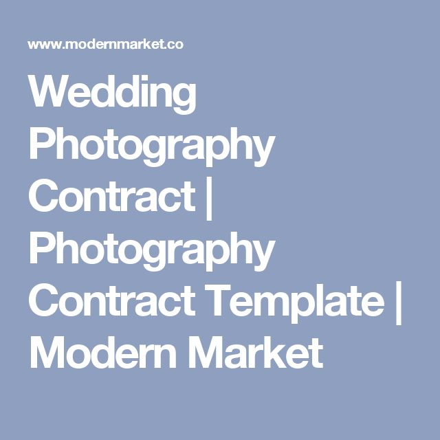 1000 ideas about Wedding Photography Contract – Wedding Photography Contract Template