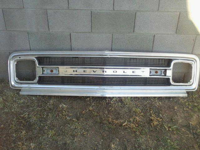 1970 Chevy C 10 Grille 1967 72 Chevrolet Gmc Trucks