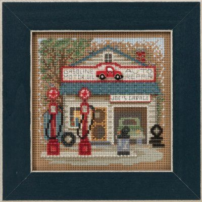 Joe's Garage - Beaded Cross Stitch Kit
