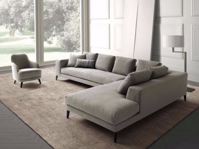 Hamptons sofa by Castello Lagravinese for Casamilano home collection