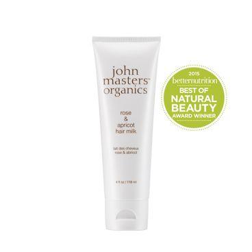 John Masters Organics - Róża i morela - Odżywcze mleczko do włosów