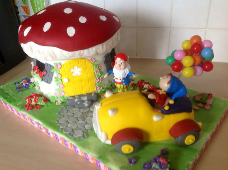 Noddy cake for my brothers 60th birthday