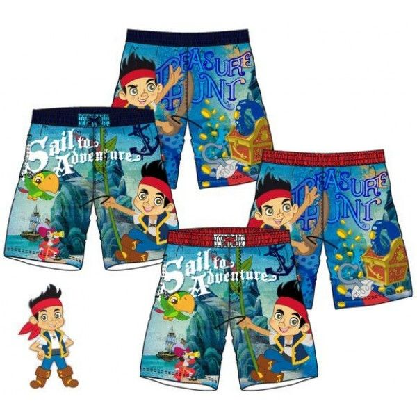 Jake og ønskeøens pirater shorts