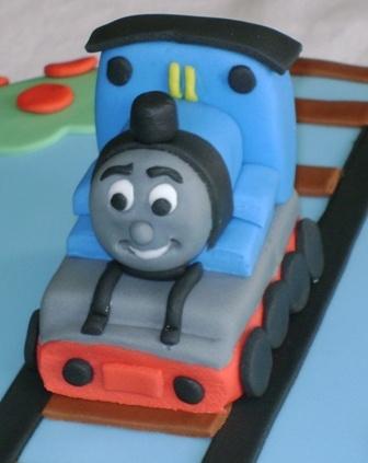 Thomas the Tank Engine sugar figurine