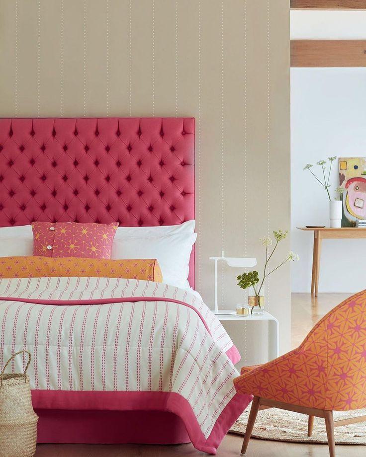 """Bright And Bold Guest Bedroom: Vanessa Arbuthnott On Instagram: """"The Bedroom... Bright"""