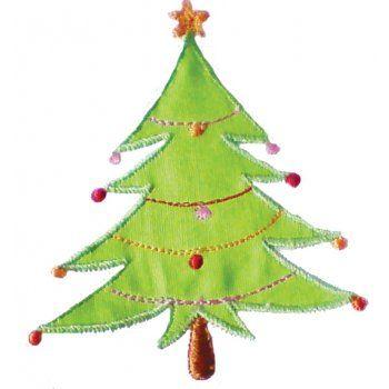 White Christmas Tree Bunting