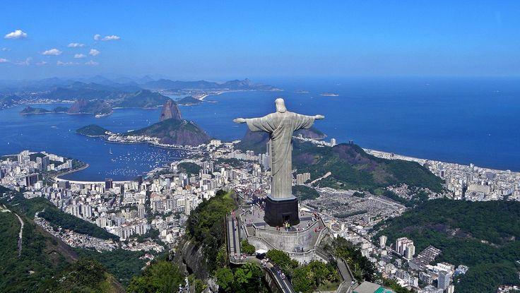 As Sete Maravilhas do Mundo Antigo - Christ on Corcovado mountain - Cristo Redentor – Wikipédia, a enciclopédia livre