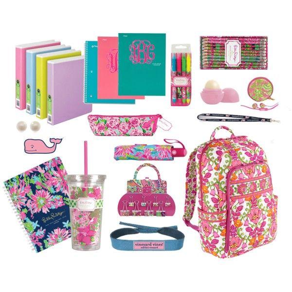 Preppy School Supplies ♥︎