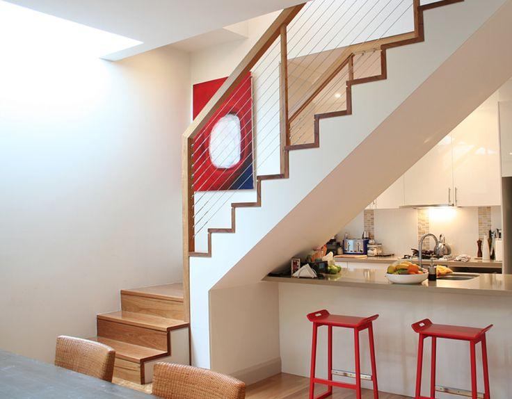 Innovativ 26 best freie Treppe und Geländer Holz und Stahl - Familie mit für  WA08