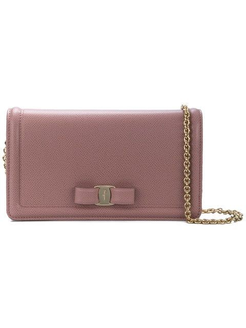 c4116e235e Shop Salvatore Ferragamo Vara bow mini bag
