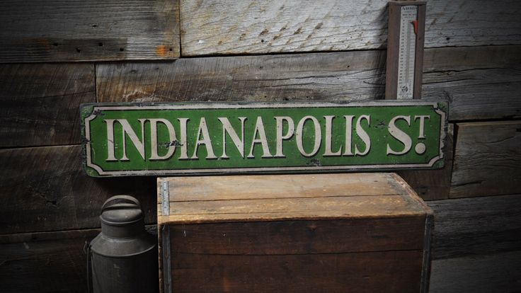 Wooden Custom Street Sign  - Rustic Hand Made Vintage Wooden Sign  -  ENS1000192 by TheLiztonSignShop on Etsy https://www.etsy.com/listing/185392142/wooden-custom-street-sign-rustic-hand