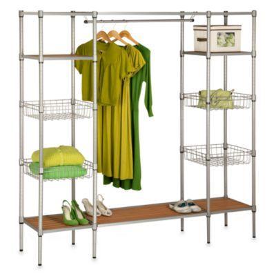 Honey-Can-Do Free Standing Closet - BedBathandBeyond.com
