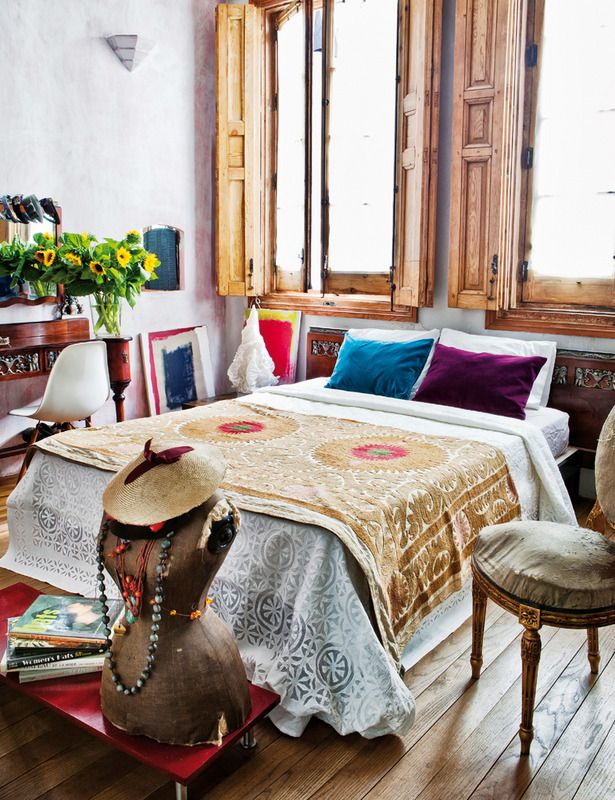 find this pin and more on bohemian decor bedrooms - Bohemian Bedroom Design
