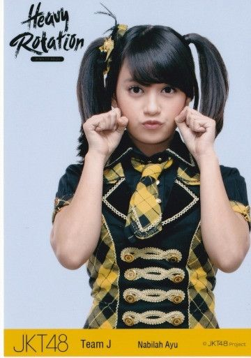 Photo Pack JKT48 (Nabilah) seifuku Heavy Rotation