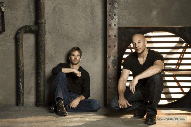 Fast & Furious - Promo shot of Vin Diesel & Paul Walker