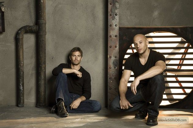 Fast & Furious - Promo shot of Vin Diesel & Paul Walker