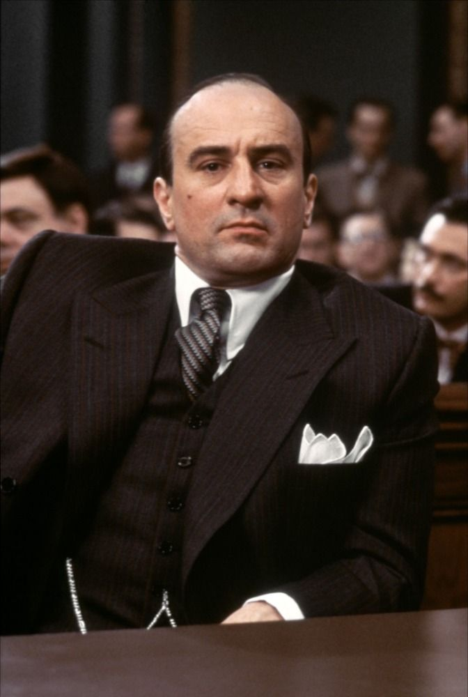 Robert De Niro as Al Capone | The Untouchables, Dir. Brian DePalma, 1987.