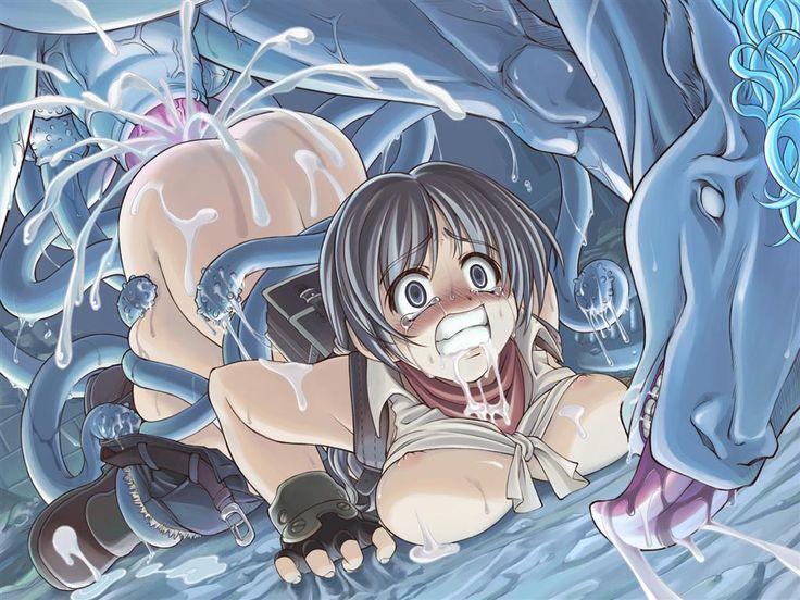 anime monster sex