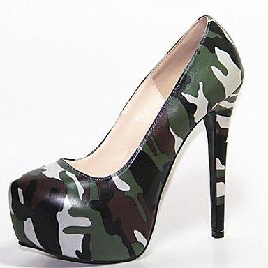 γυναικών παπούτσια πλατφόρμα στιλέτο τακούνι παπούτσια αντλιών – EUR € 44.99