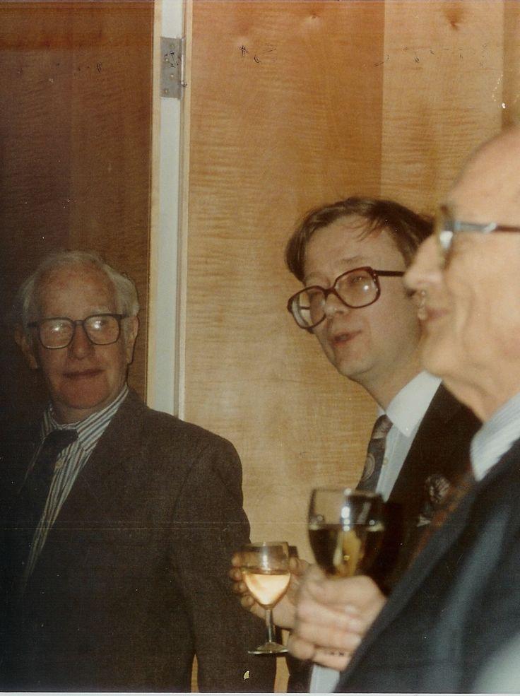 Sir Sidney Nolan, Peter Fuller and Charles Rycroft