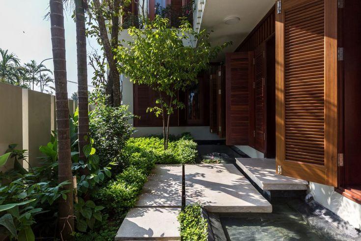 Ngôi nhà với vườn cây bốn mùa xanh mát tại Hà Nội qpdesign