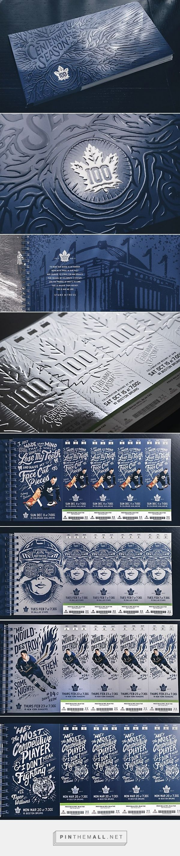 Toronto Maple Leafs ticket package - created via https://pinthemall.net