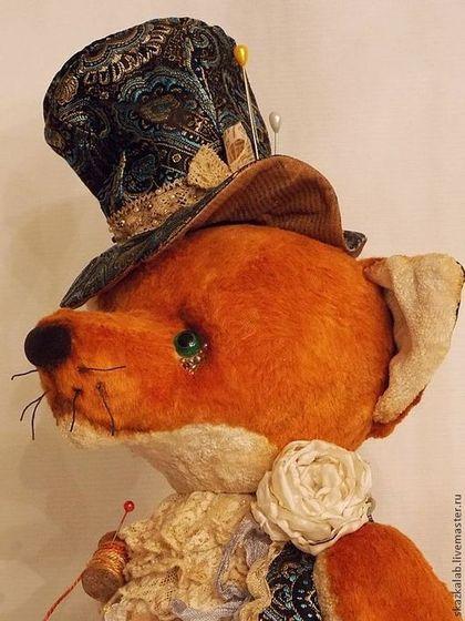 Безумный шляпник - рыжий,лис,шляпник,безумный шляпник,алиса в стране чудес