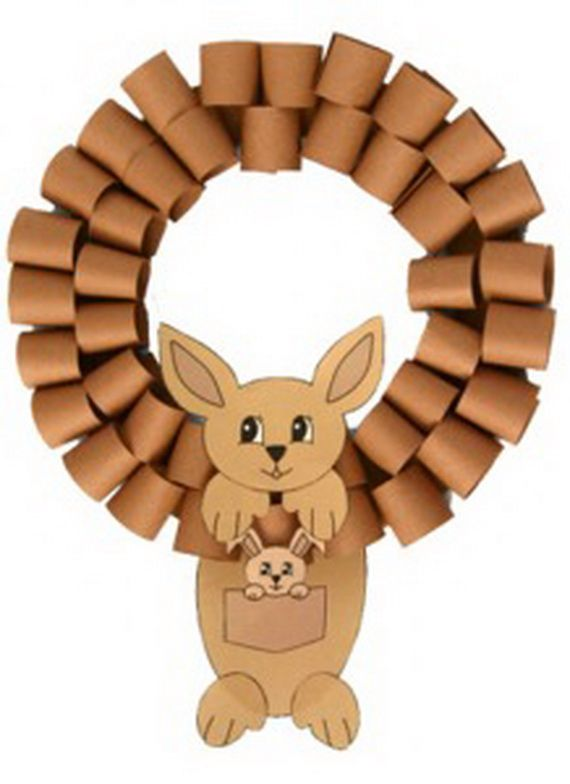 Crafts for Kids- Use Toilet Paper rolls instead of paper, teach kids about recycling!