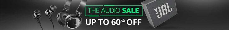 #amazonelectronics-60% OFF on Audio Sale-Headphones -Electronics @ Amazon India