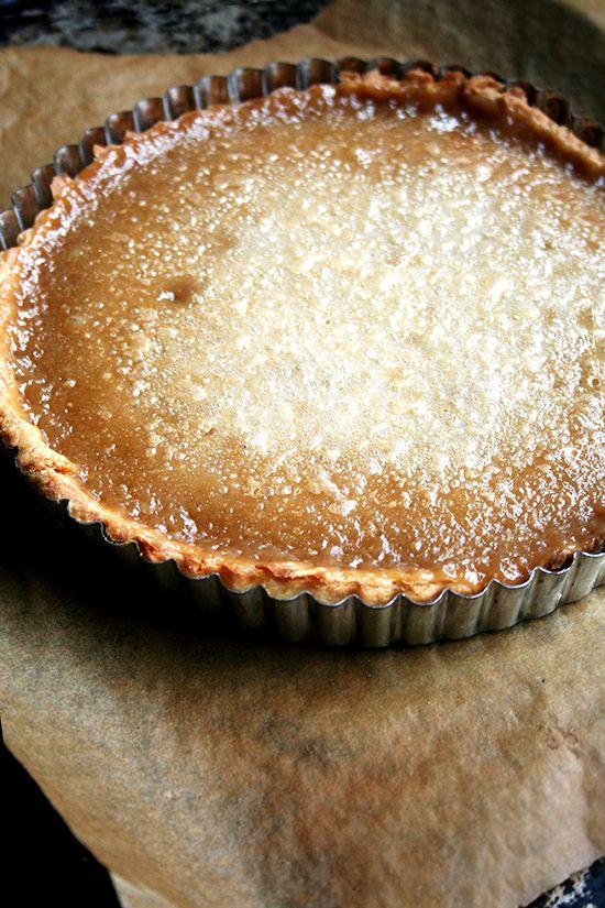 I think I found my new favorite tart! // maple cream tart, just baked from alexandracooks.com