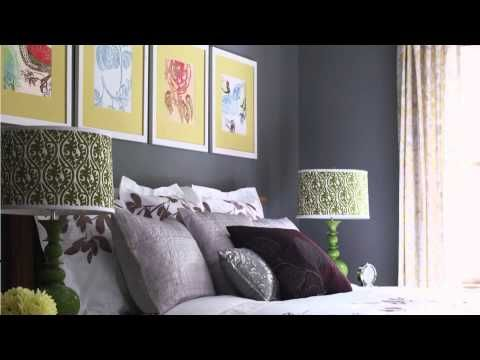 Interior Decorating Tips Using the Color Wheel - YouTube